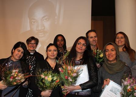 Smedjeback och Hijabuppropet inspirerade på Martin Luther King-dagen